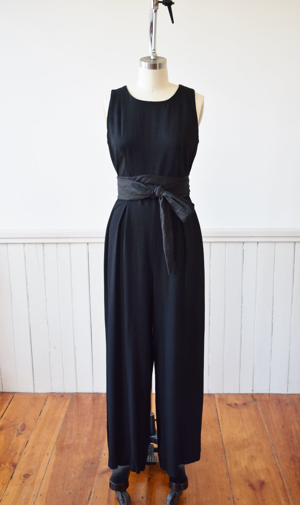 Basic Black Jumpsuit | M
