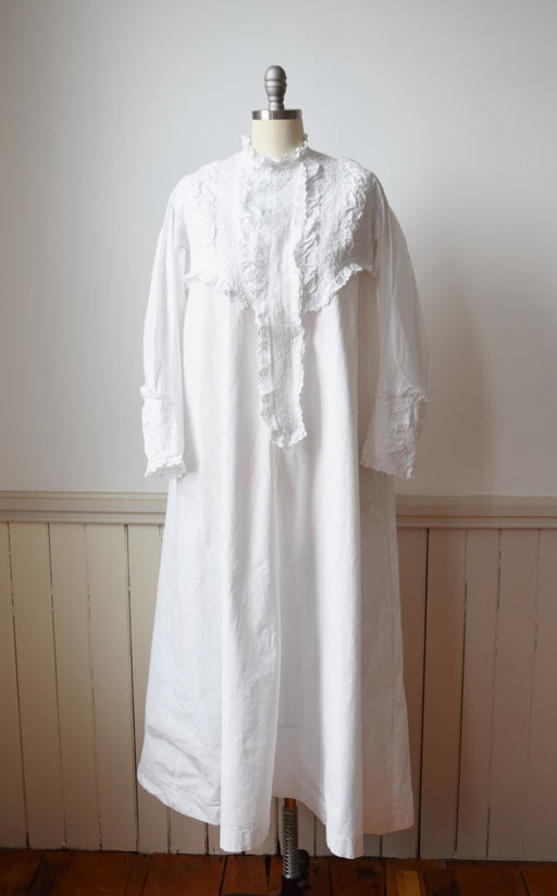 Victorian Cotton Gown | S/M