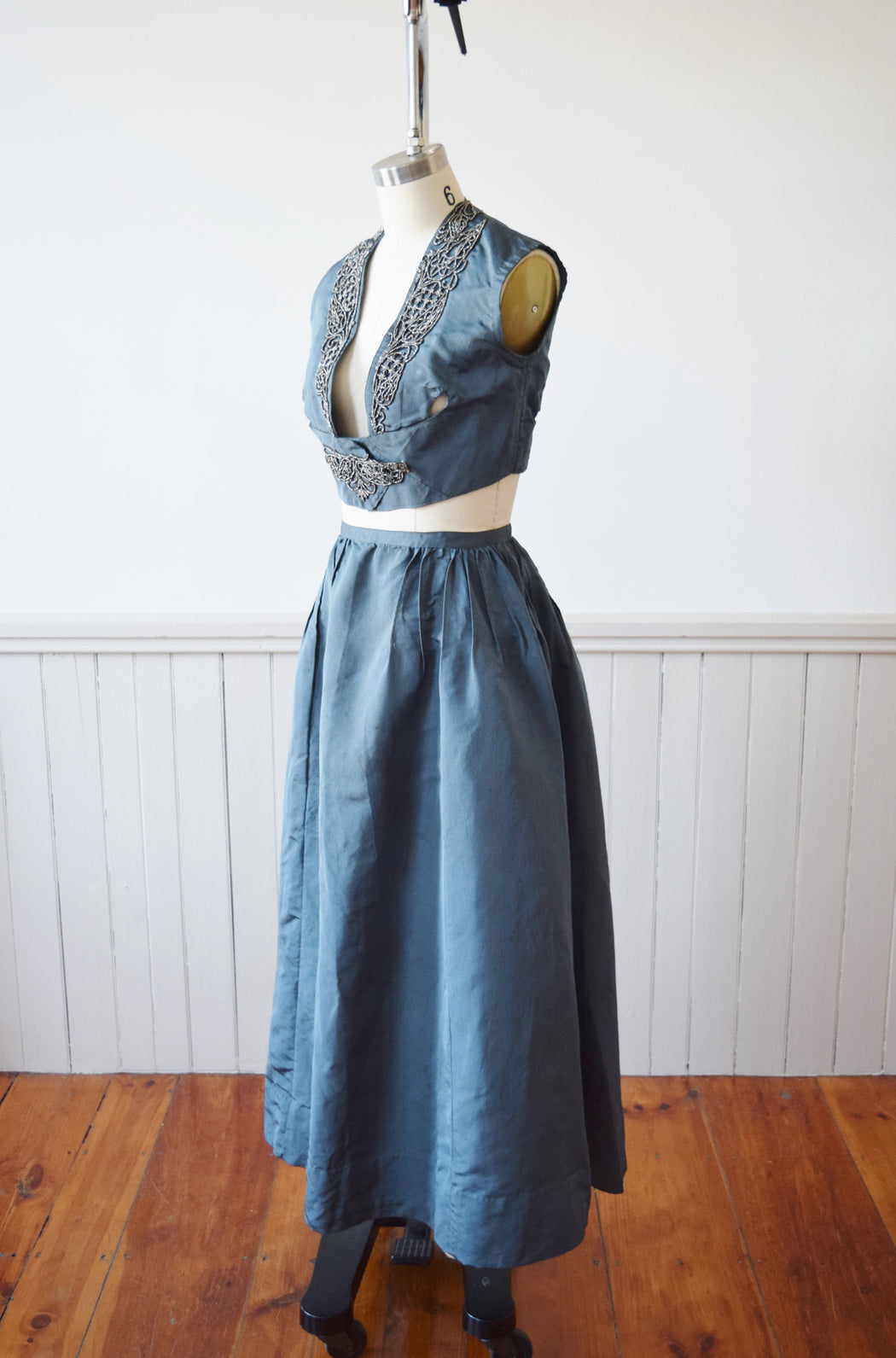 Edwardian Skirt and Vest Set | XS