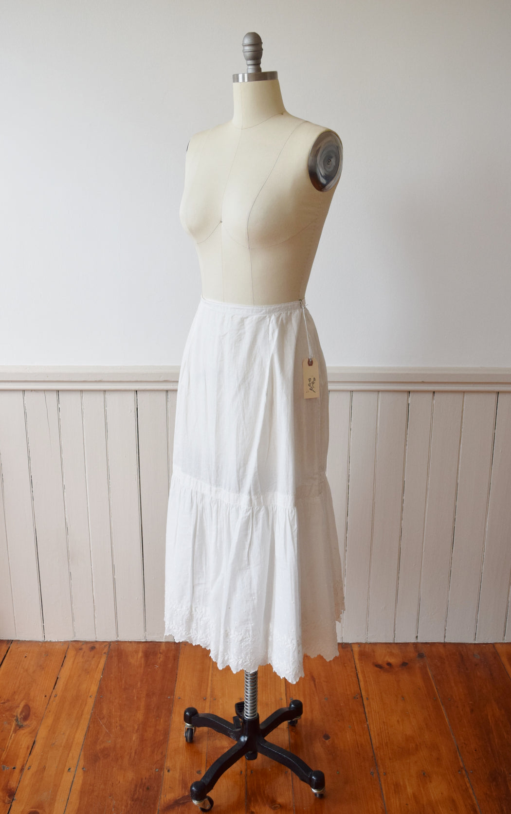 Antique Cotton Petticoat | Prairie Skirt