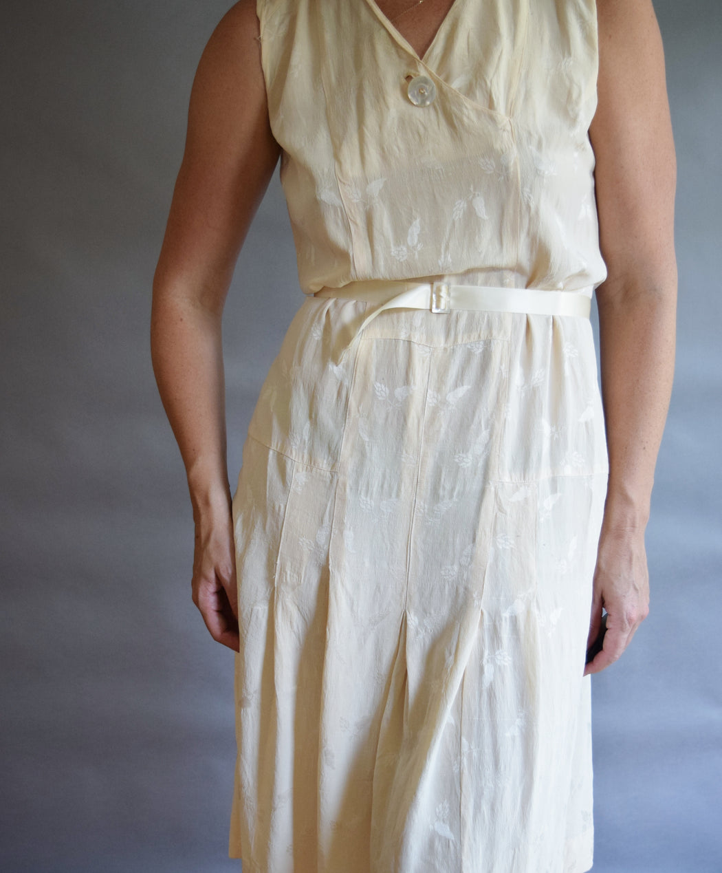Early 1930s Silk Tennis Dress