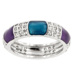 Calm Enamels Ring - Higher Class Elegance