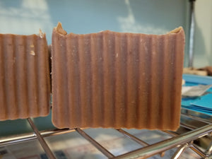 Cherry Tobacco Goat's Milk Soap