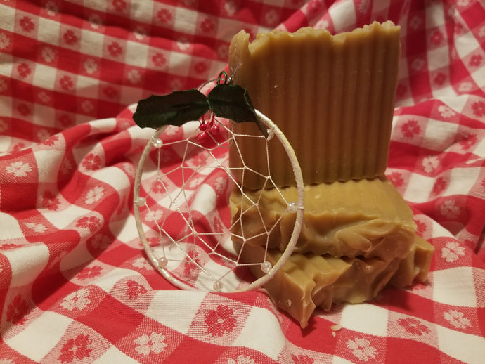 Peppermint Bark Goat's Milk Soap