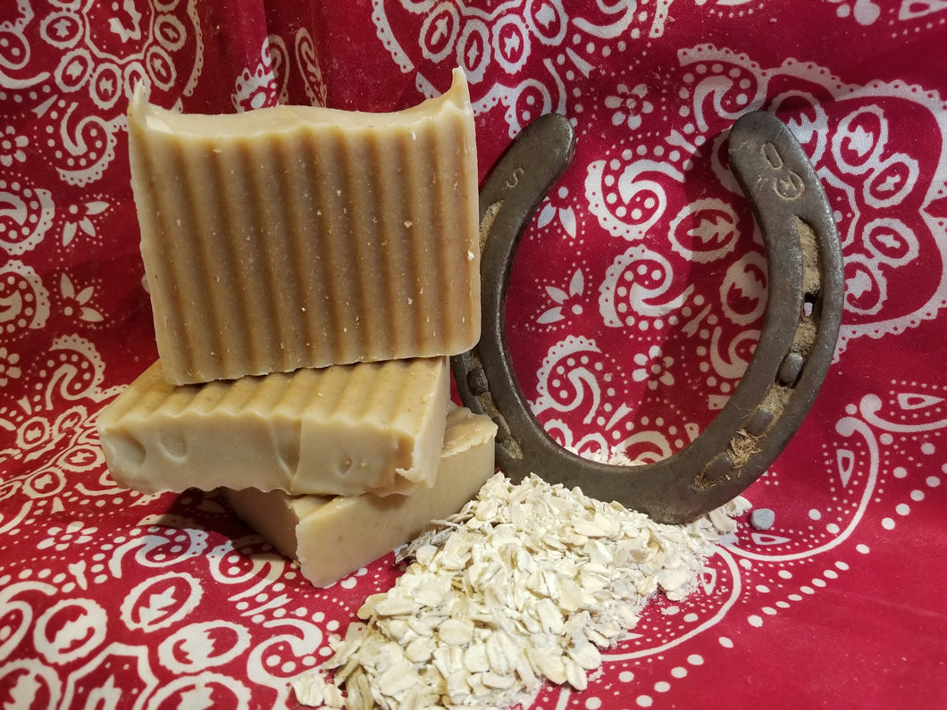 Oatmeal and Honey Goat's Milk Soap