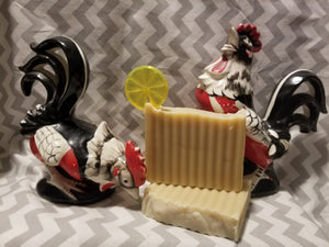 Plantain Goat's Milk Soap (Jasmine and Lemon)