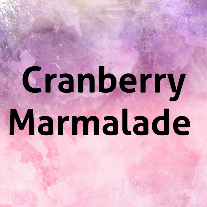 Cranberry Marmalade Goat's Milk Soap