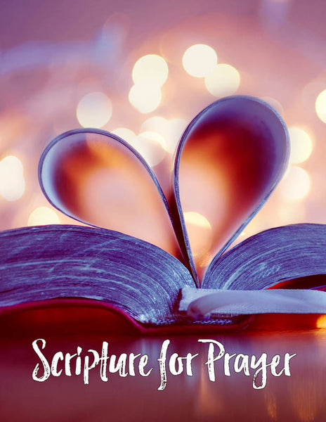 Favorite Scriptures to Pray Worksheet
