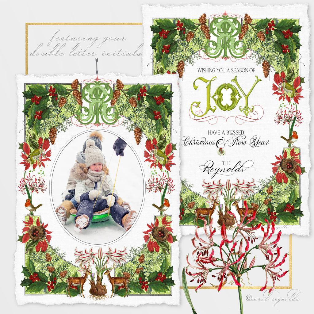 """Winter Botanical"" Christmas Cards"