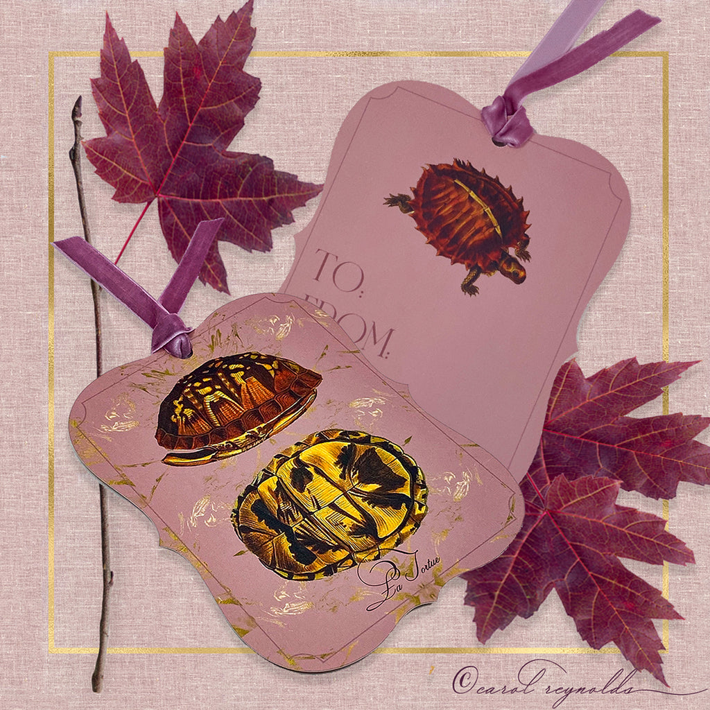 """La Tortue"" Gift Tags"