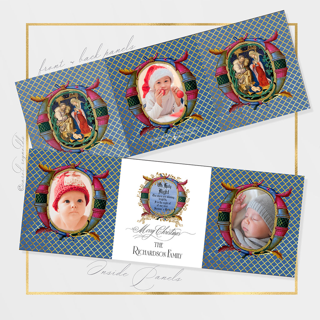 """O Holy Night"" Christmas Cards"