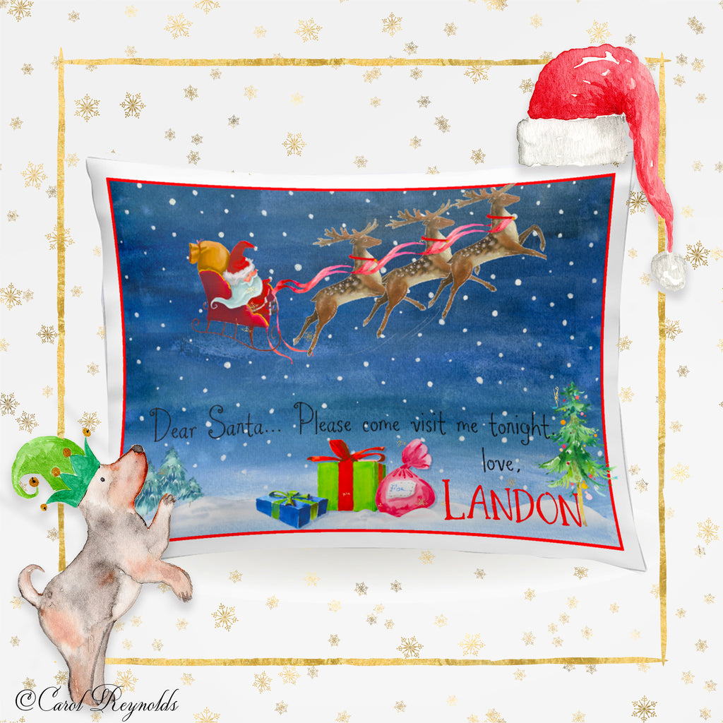 """Night Before Christmas"" Pillowcase"