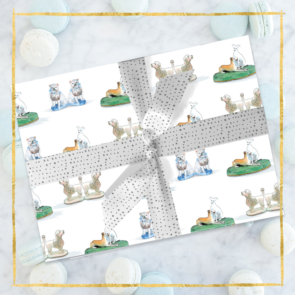 Staffordshire Dogs Wrapping Paper