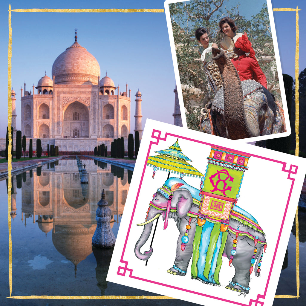 The Pink Maharaja Notecards