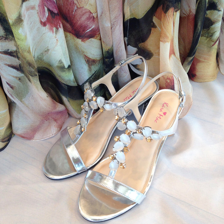 Celebrity Sandal SILVER Bundle - Kara Mac Shoes