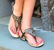 Stunning Sandal Sets- BLACK - Kara Mac Shoes