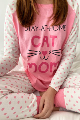 CONJUNTO PANTALON CAT MOM