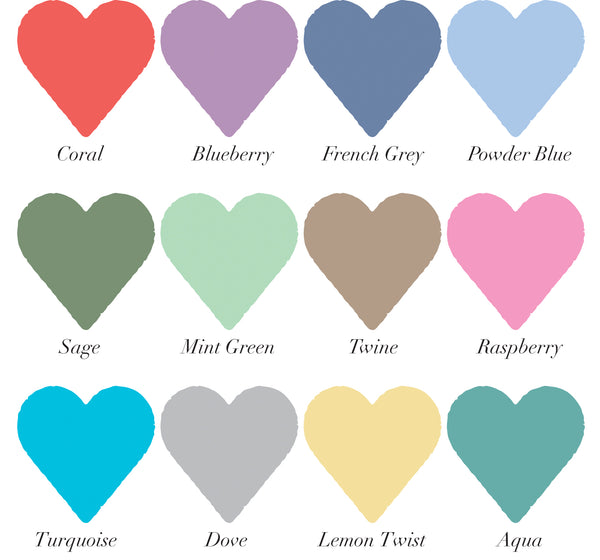 colour heart swatches