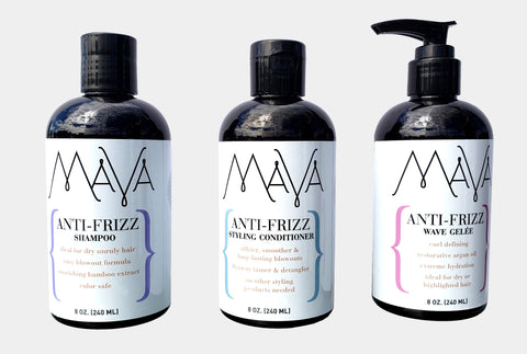 Mava Anti-Frizz Haircare Set