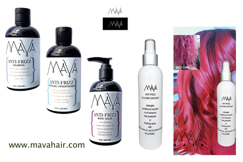 MAVA - Anti-Frizz Shampoo