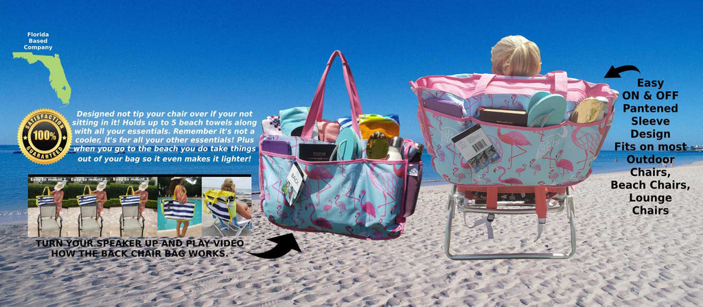 Beach Bag works on Beach Chairs