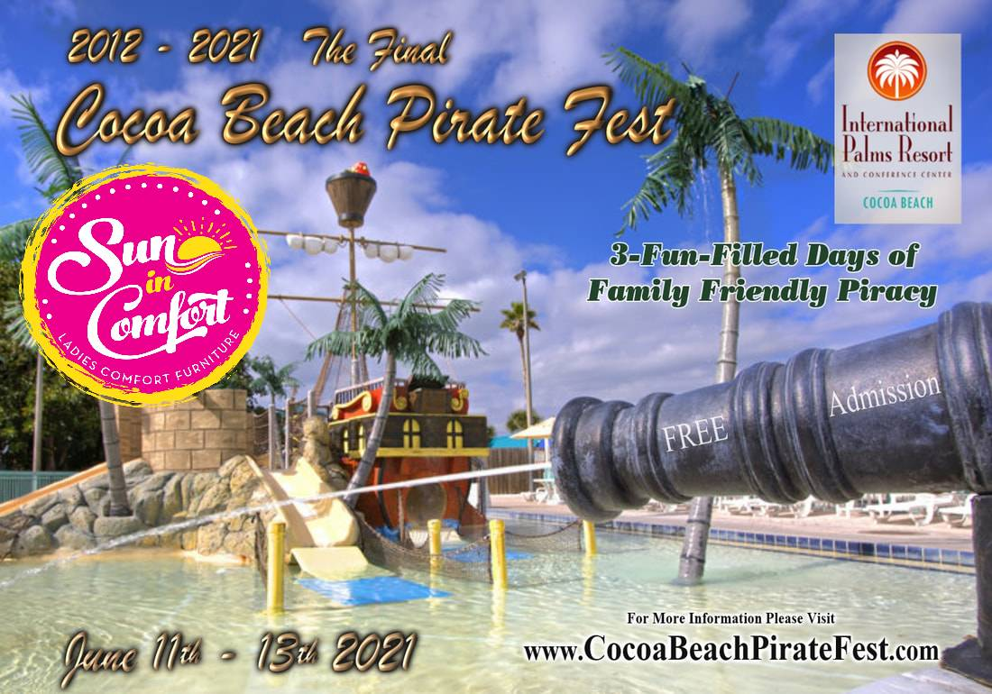 Sun In Comfort at the Cocoa beach pirate fest at the international palms resort cocoa beach Florida