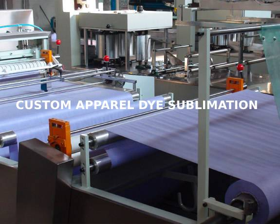 GET A FREE QUOTE TODAY for CUSTOM DYE-SUBLIMATED APPAREL