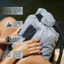 Load image into Gallery viewer, Hydroner 20L Waterproof Backpack - Mahi geckoflage