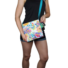 Load image into Gallery viewer, Crossbody Bag - Watercolor Floral