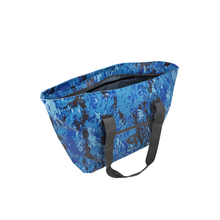 Load image into Gallery viewer, Escape Waterproof Beach Tote - Ocean geckoflage