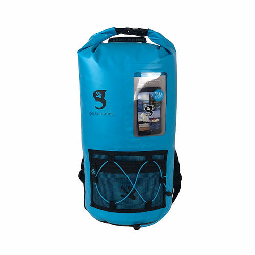 Hydroner 20L Waterproof Backpack - Neon Blue/Black