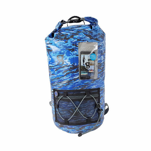 Hydroner 20L Waterproof Backpack - Ocean geckoflage