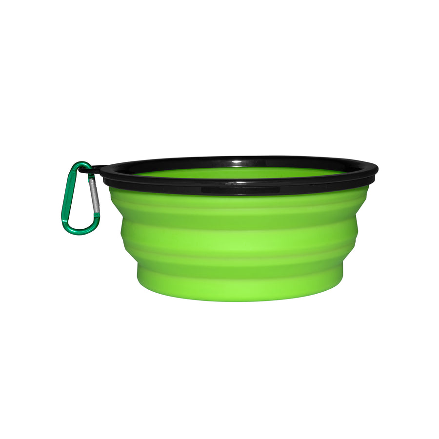 Collapsible Silicon Dog Bowl