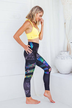 3D Magic - High waist tights - Macaw Activewear