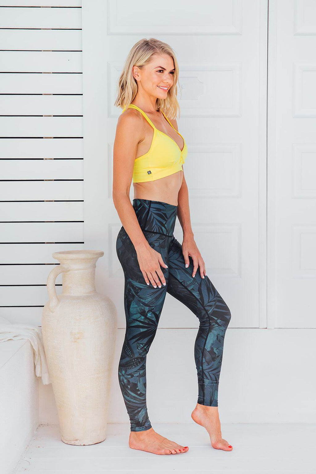 Amazon Jungle - High waist tights - Macaw Activewear