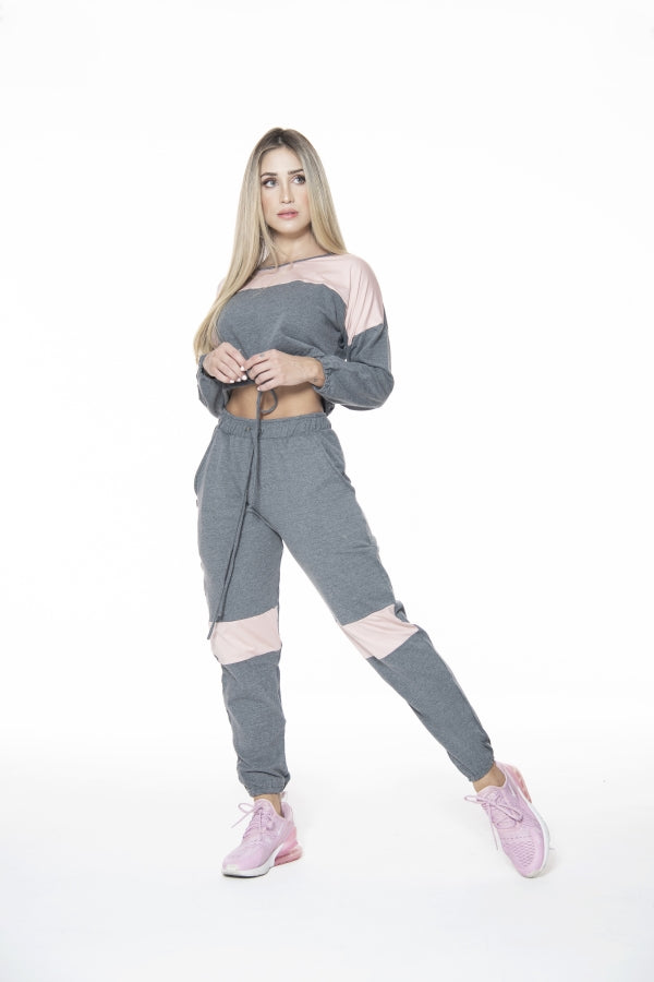 Grey chic jogger - Macaw Activewear