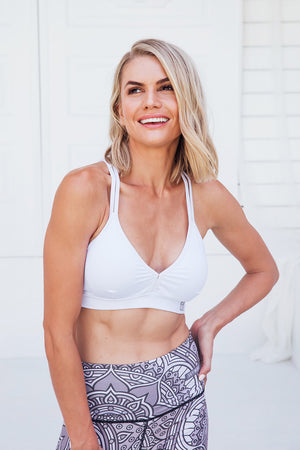 Cross Back - Sports bra - Front facing