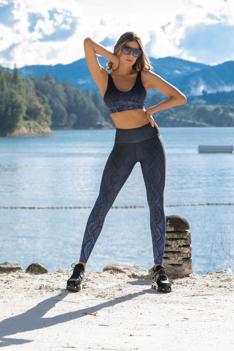 Panther - High waist tights - Macaw Activewear