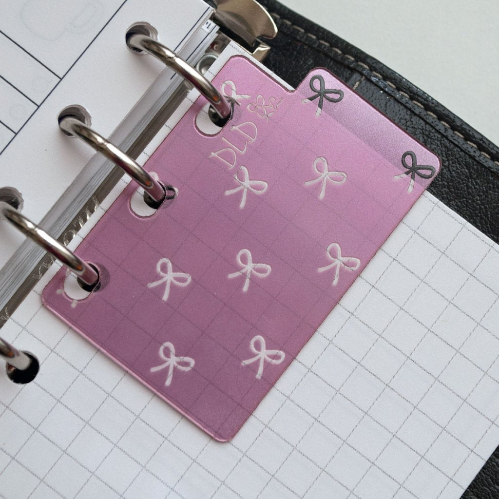 Bows Bookmark