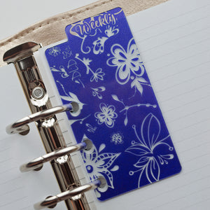 Bold Floral Bookmark