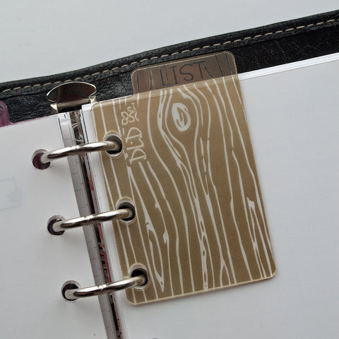 Wood Grain Bookmark