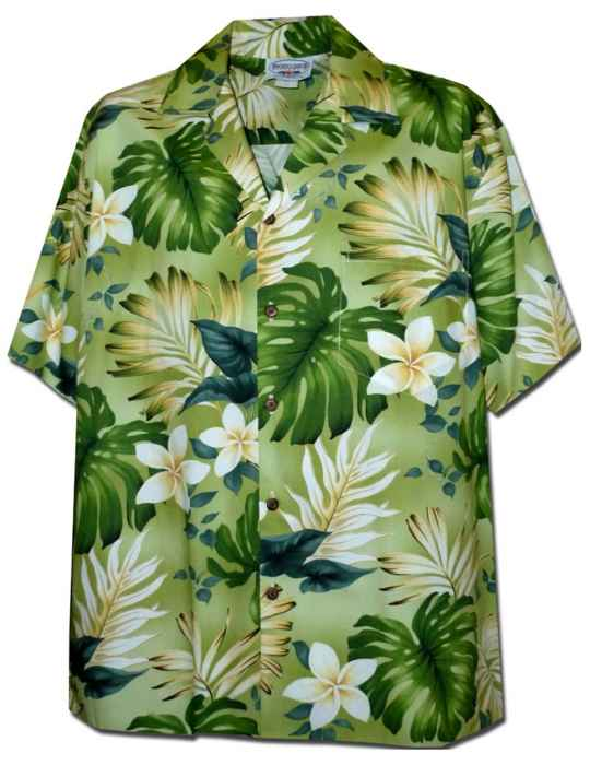 Palolo Valley Men Shirt Green