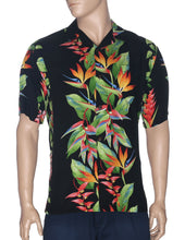 Load image into Gallery viewer, Hawaiian Shirt Birds of Paradise Panel