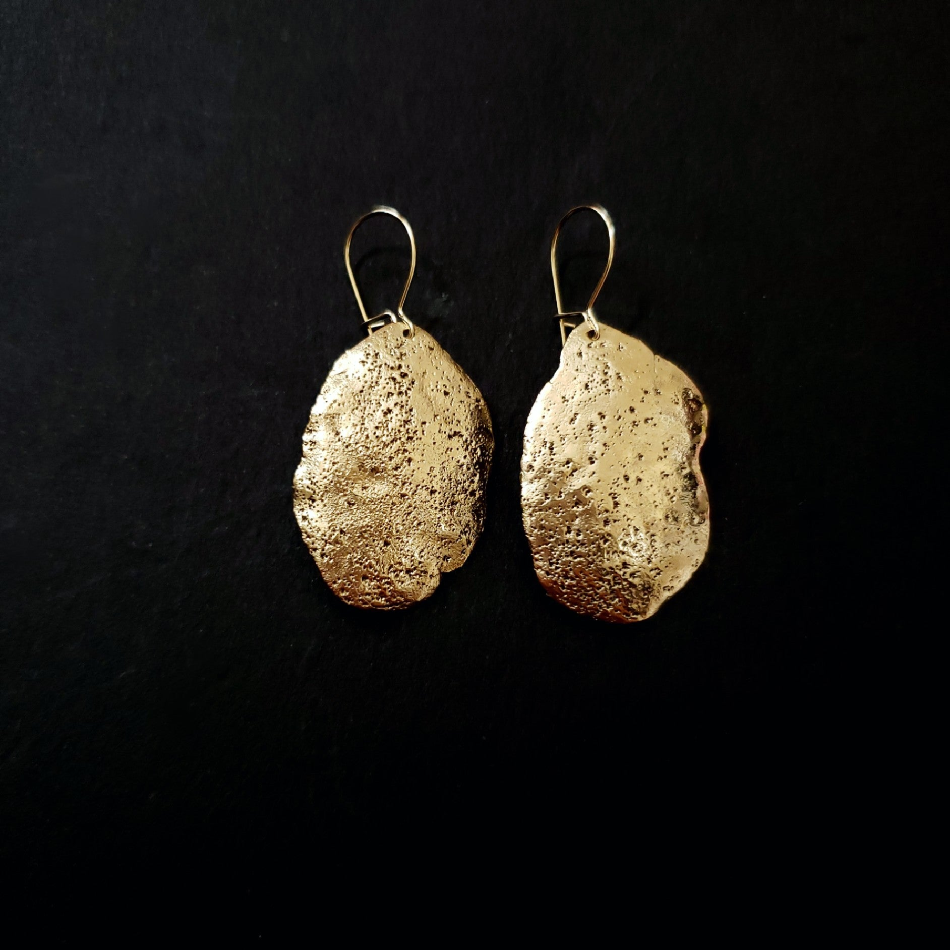 Bronze acient earrings