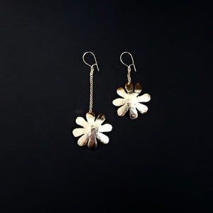 Bronze tiare earrings