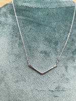 Basin Necklace in Sterling Silver
