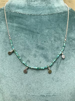Dash Necklace in Amazonite