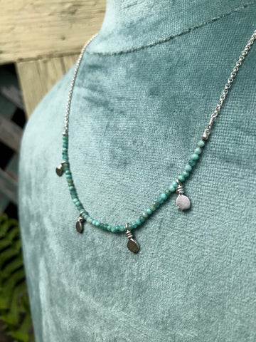 NEW Dash Necklace in Amazonite