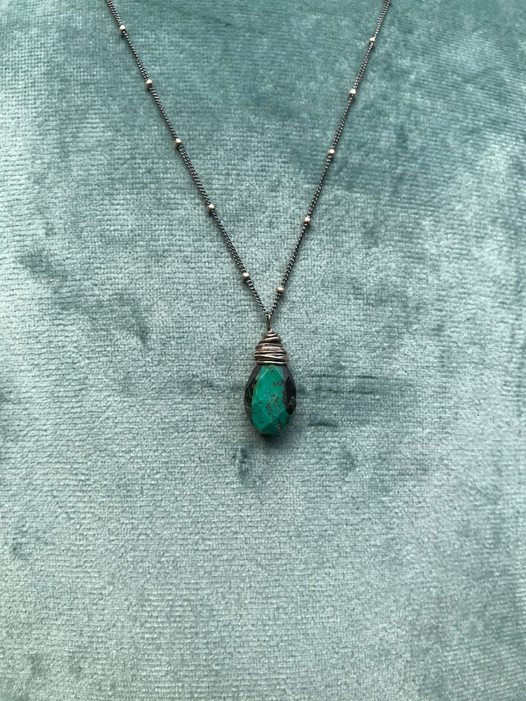 Nested Turquoise Necklace #1