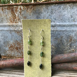 NEW Ombre Tourmaline Earrings